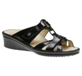 Cambria Black Patent