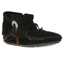 Concho Feather Black