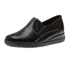 Lugano Slip on Black