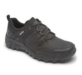 Cold Springs Plus Black Waterproof Lace-Up Shoe