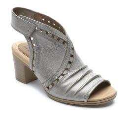 Hattie Envelope Metallic Sandal