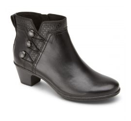 Kailyn Black Ankle Boot