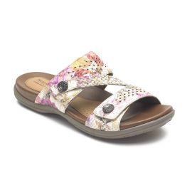 Rubey Floral Slide Sandal