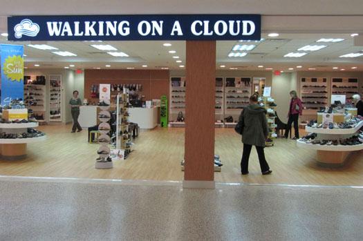 Walking on a Cloud Cloverdale Mall