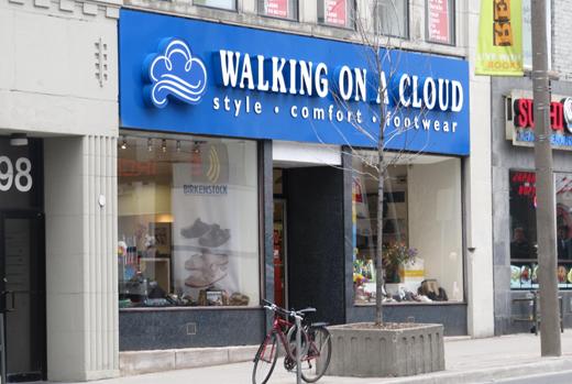 Walking on a Cloud Yonge & St. Clair